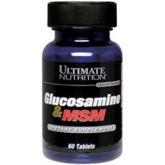 Ultimate Nutrition Glucosamine MSM (image)