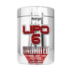 Nutrex Lipo-6 Unlimited Powder (image)