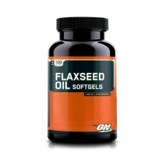 Optimum Nutrition Flaxseed Oil Softgels (image)