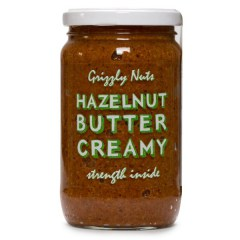 Паста из фундука Grizzly Nuts Hazelnut Butter (image)